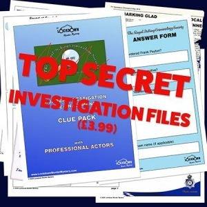 Murder Mystery Clue Pack